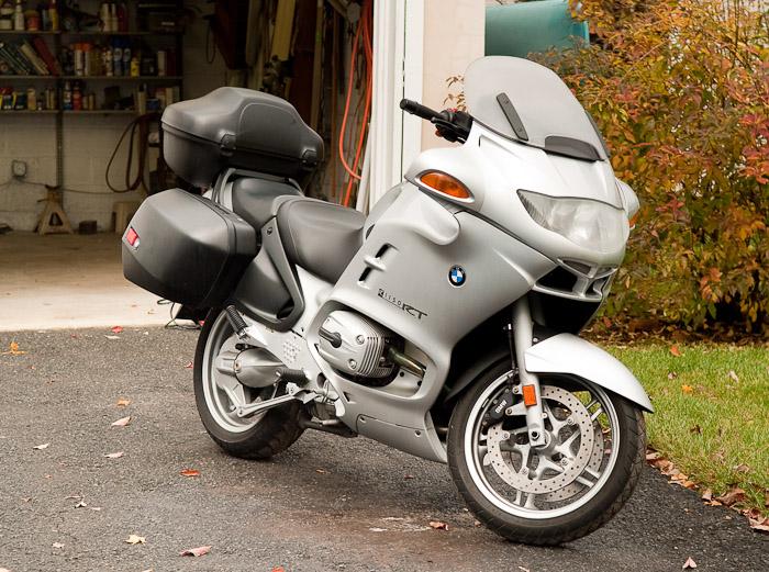 Dsc on 2004 Bmw R1150rt